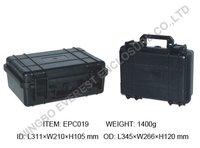 Hard ABS plastic waterproof equipment foam case for industry