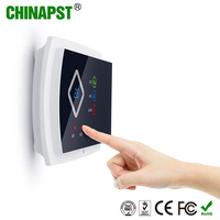 Made in Shenzhen Internet 99 Wireless & 2 Wired Zones GSM&SMS Presidental Alarm System Reviews with lcd indicator PST-G10A