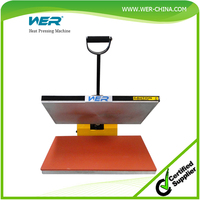 2015 Hot selling WER Heat press machine for T-shirt printing