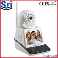 Sricam SP004 H.264 Wireless P2P Camera Wifi Cell Phones For Skype Dual Camera