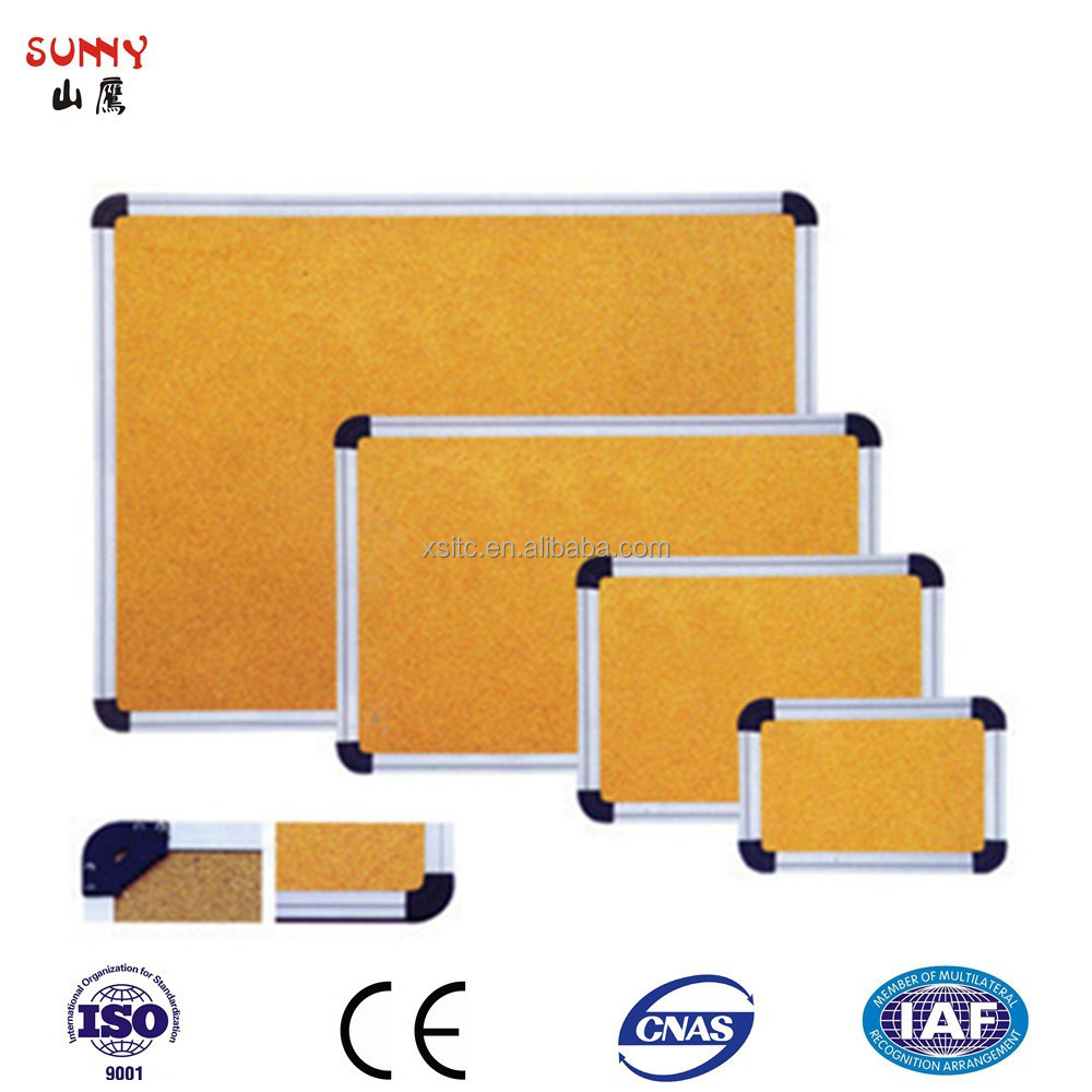 Cork Bulletin Board Various Size Of Aluminium Frame Cork Bulletin Board Buy Cork