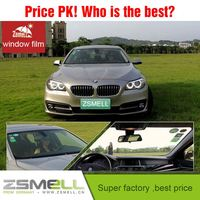 zsmell hot sales glass protective film high quality car interior solar ontrol glass car coating surface protective film