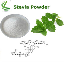 Food additives 100% pure natural concentrated sweetener stevia extract