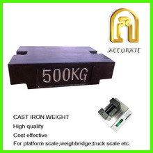ACCURATE M1 class weight 500kg test weight counter balance crane