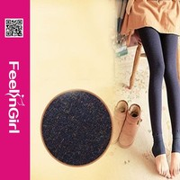Latest fashion warm winter women in tight leggings manufacture of hosiery
