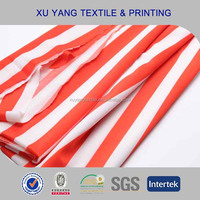 Spandex Printing Plummy weft kintted nylon knitted fabric rates