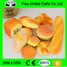 Fruit bread designs Fake food wholesale products Promotional Gifts simulated food models