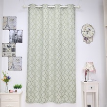 Modern designs window curtain jacquard fabric readymade curtain