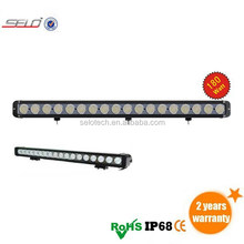 high quality 180W LED Work light bar/10w per LED lamp chip work light bar