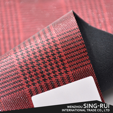 Various style reflective synthetic leather, laminated pu leather for shoes making