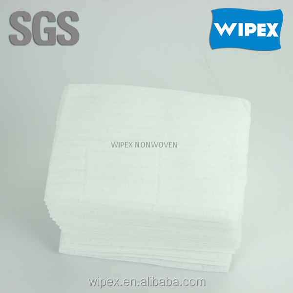 2015 hot sell spunlace non-woven healthcare wipes for body cleaning