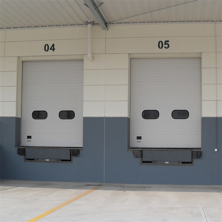 Security Automatic Sectional Warehouse Rolling up Aluminum Garage Doors