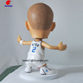 American football sports man figurine plastic toy, custom pvc sports figurines, 3d custom football player supplier