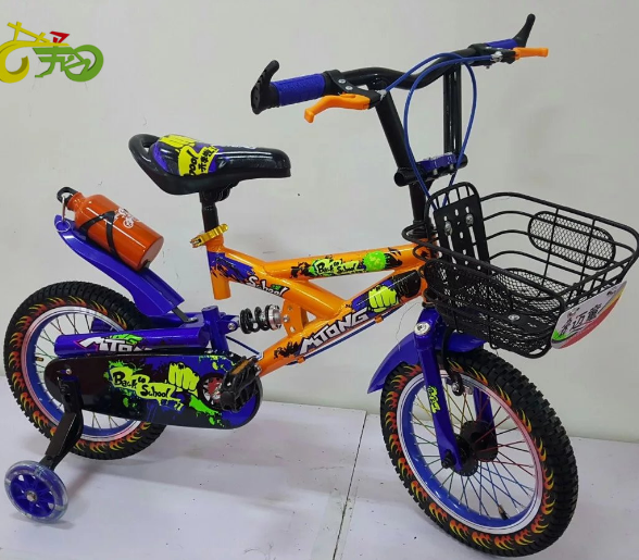 Export children bike kids complete suspension mountain bike MTB for students