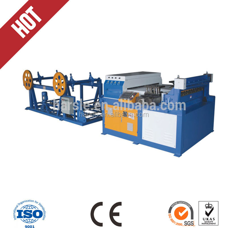 Square duct making machine, auto duct line 3