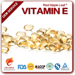 Natural 400 IU Vitamin E softgel capsules