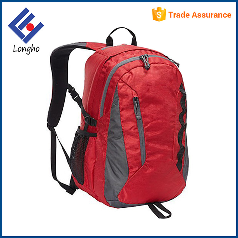 Multipurpose climbing backpack manufacturers, full organizers outdoor camping hiking bagpack with key clip