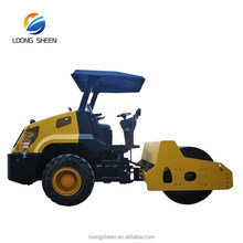 Gradeability 30% 6 ton Weight Road Construction Equipments Roller