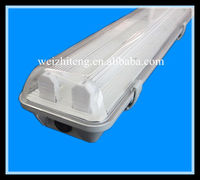 IP65 T5/T8 PC outdoor waterproof suspended fluorescent light fixtures CE