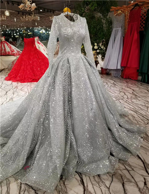 Wholesale grey wedding gown - Online Buy Best grey wedding gown from ...