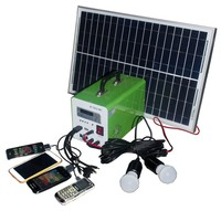 portable solar powerbank off grid small solar kit mini solar power system 30w 12v for camping