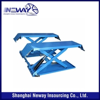 New products crazy selling manual scissor car lift for sale