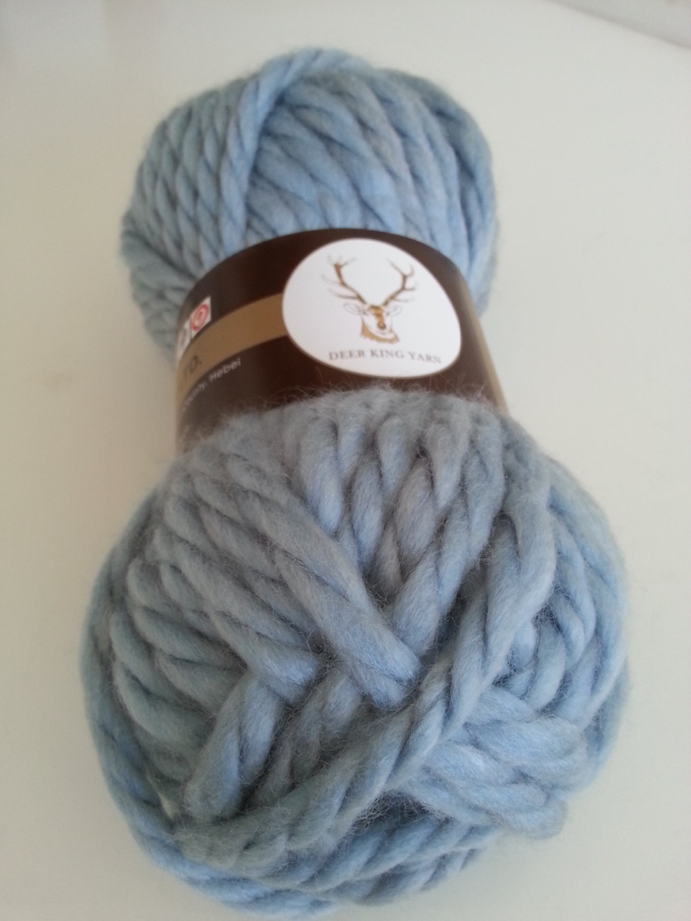 Hand Knitting Yarns : Chunky merino wool yarn hand knitting shrinkproof