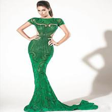 hand beaded evening dress evening dress first night dress for women evening gown