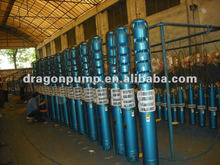 QJ electric submersible deep well water pump to draw water from well
