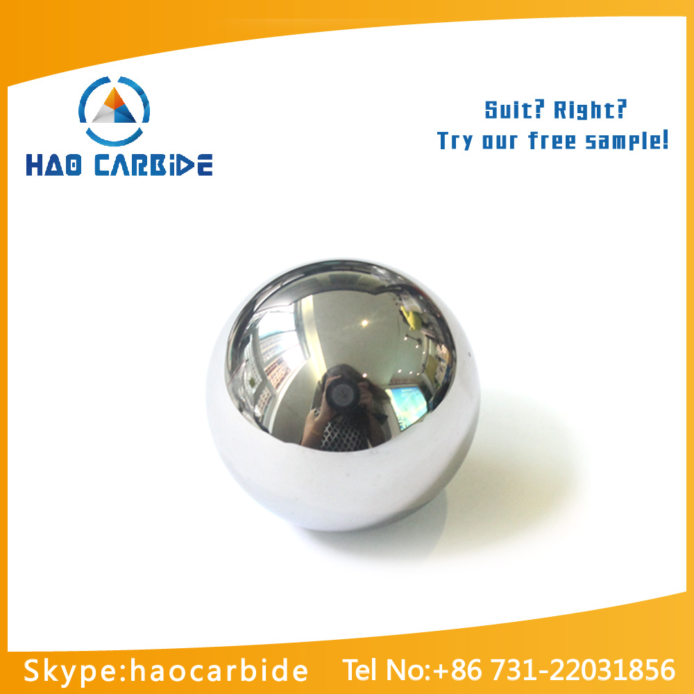solid tungsten carbide ball bearing
