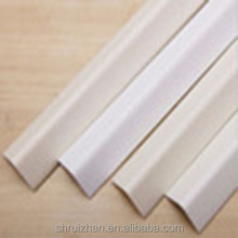 Clear Plastic PVC Corner Wall Guards/Plastic Strip Edge Protector