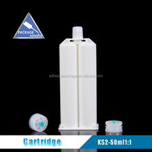 50ml1:1 empty two-component cartridge for caulking adhesive sealant