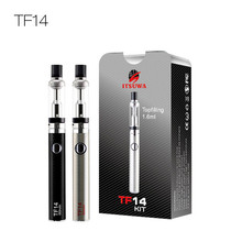 mini 510 oil vaporizer cartridge 650mah vaporizer pen kit 1.2ohm clearomizer & 510 battery kit