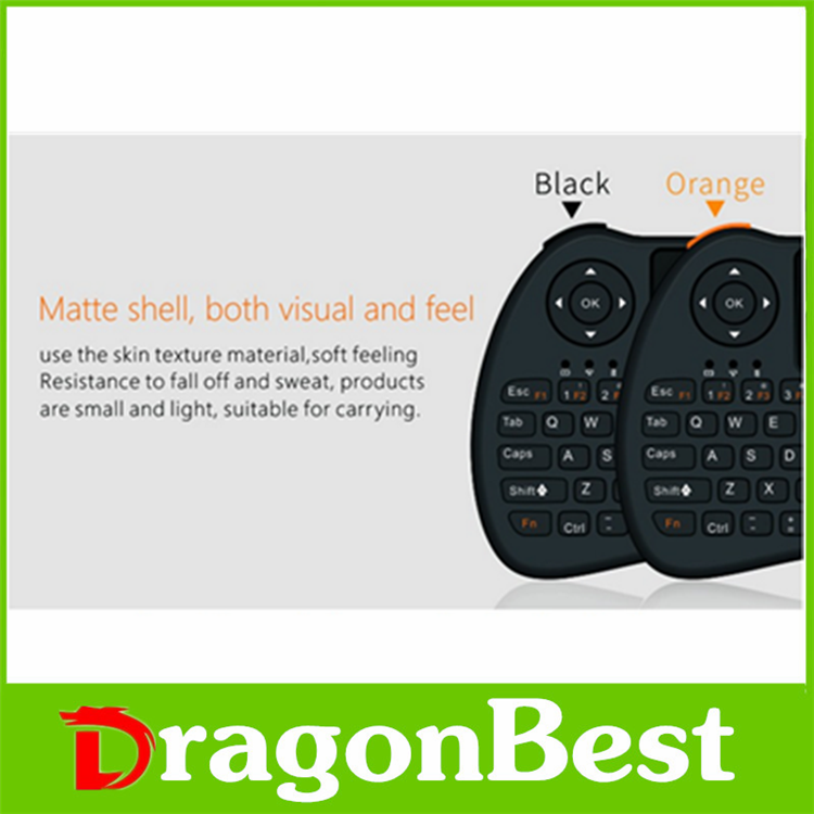 2017 Factory price H9 air mouse for Android TV bluetooth remote control China Wireless controll