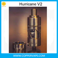 2017 Newest version Hurricane 2.0 top filling 22.5mm Coppervape 316ss hurricane v2 clone