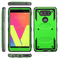 Heavy Duty Full-Body Rugged Holster Armor Shockproof Kickstand Phone Cover Case for LG V20
