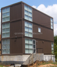 2017 Sandwich panel two storey prefabricated container house