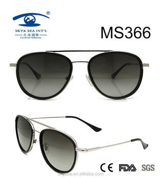 2017 Collection Fashion Custom Women Metal Sunglasses