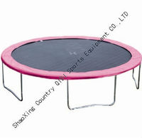 cheap colorful trampoline without safety net