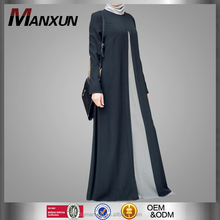 2016 Latest Design Abaya Modest Clothing Women Made In Turkey Clothing Front Open Abaya