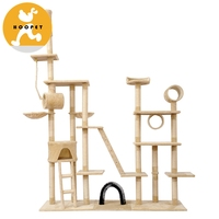 Pet Cat Kitty Tree Scratcher Luxury Wholesale Cat Pet Furniture With Sisal Cat Scratcher