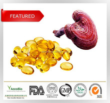 Natural Reishi mushroom(Ganoderma lucidum) extract, Ganoderma lucidum spore oil / softgels
