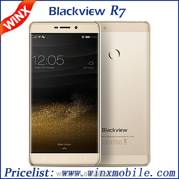 "China mobile phone Original Blackview R7 5.5"" FHD Android 6.0 low price 4g mobile phone 4/32 GB 13/8 MP"
