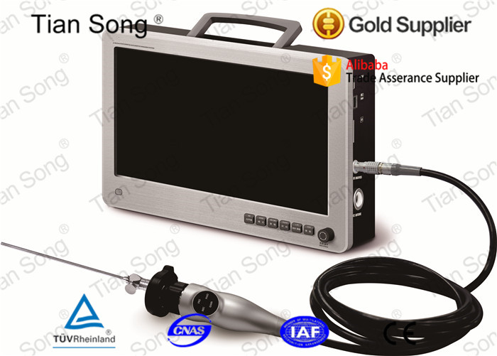 Video endoscopy camera and led light source for otoscope, sinuscope, laryngoscope