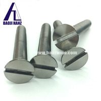 Molybdenum screw used in heavy electrical equipment