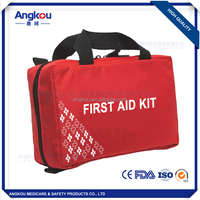 Emergency military trauma first aid kit factory price first aid kit CE FDA approved