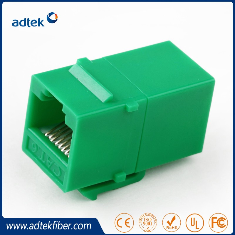 RJ45 Cat5e Keystone Jack online Coupler Slim
