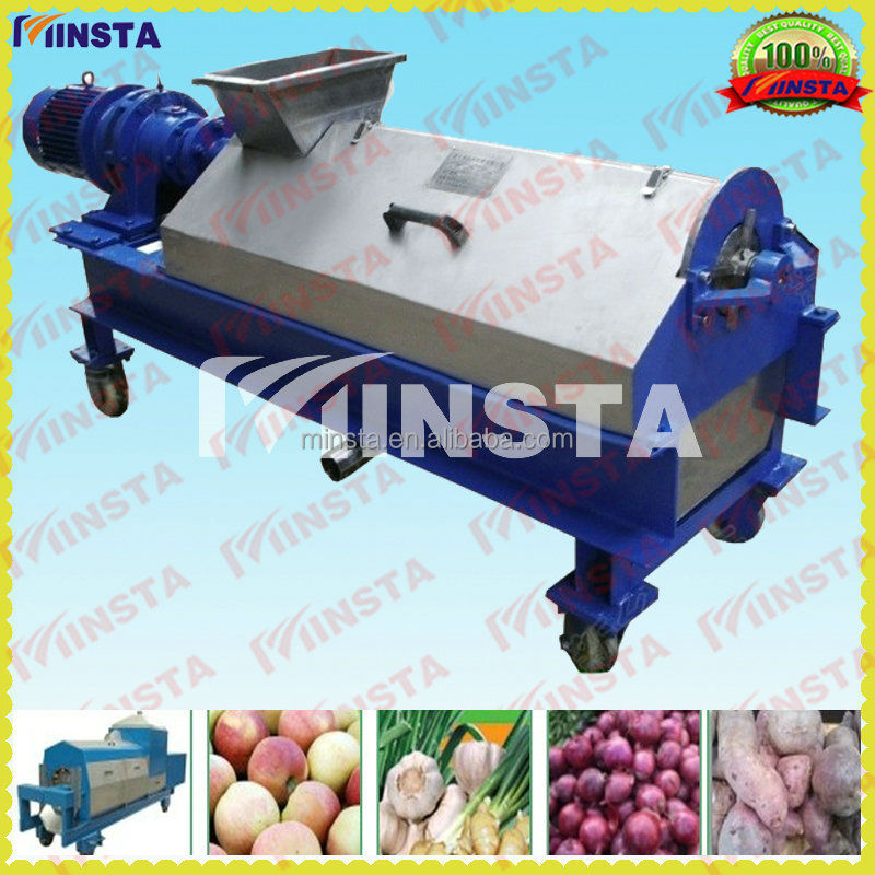 Tomato juice beating pulping machine/banana fruits beater pulping machine