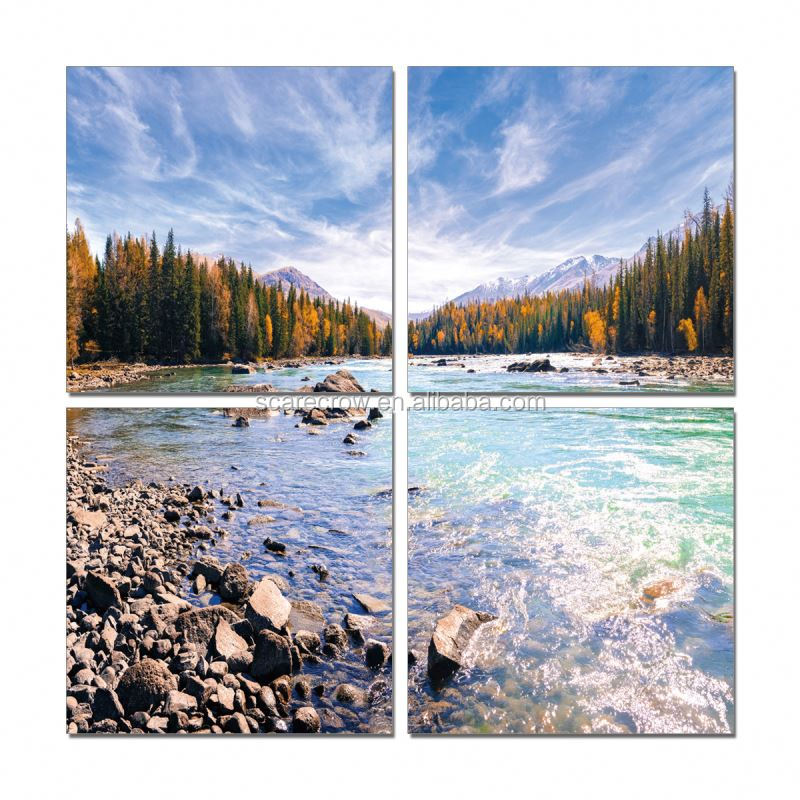 Cheap Price Custom Inkjet nature paintings images