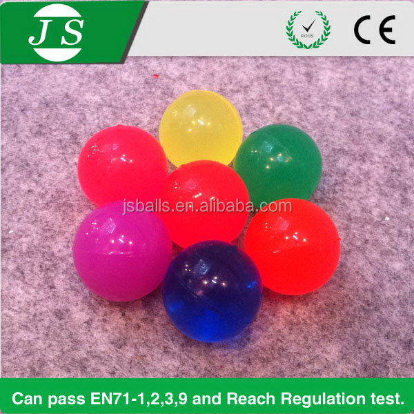 High quality new coming neon color rubber bouncing ball